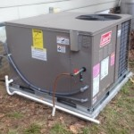 Package Unit or Gas Pack in Raleigh home