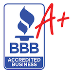 Rated A+ by the Raleigh Better Business Bureau for HVAC contractors